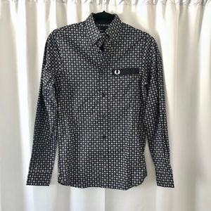 Fred Perry Drake's Original Archive Print Shirt